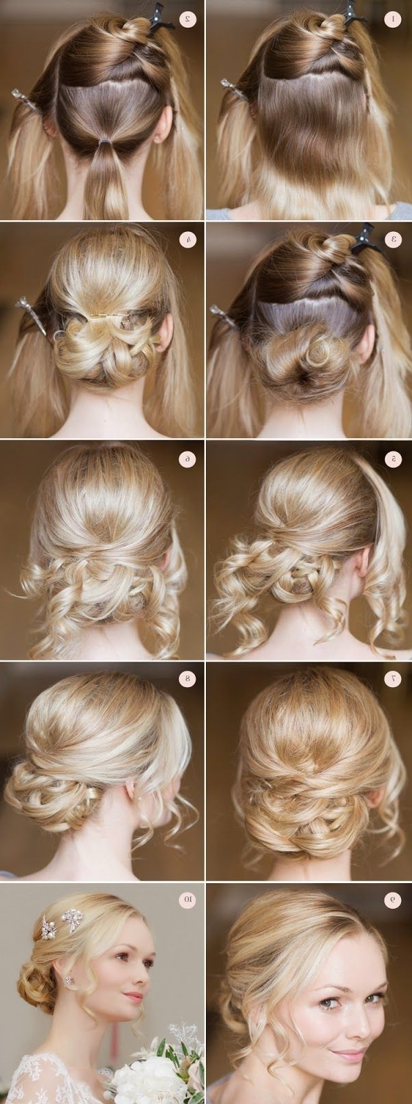 Gorgeous Pretty Bridal Hairstyles ~ Calgary, Edmonton, Toronto, Red Pertaining To Fashionable Edmonton Wedding Hairstyles (View 7 of 15)