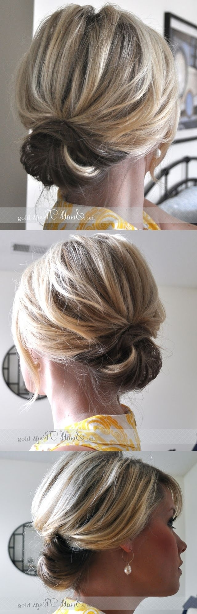 Hair Dos, Hair Ideas Inside Most Current Wedding Hairstyles For Short Brown Hair (View 6 of 15)