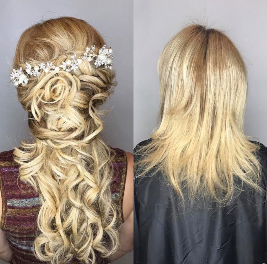 Hair Extensions Types To Lengthen Hair – Ag Miami Salon Inside Well Known Wedding Hairstyles With Extensions (View 13 of 15)