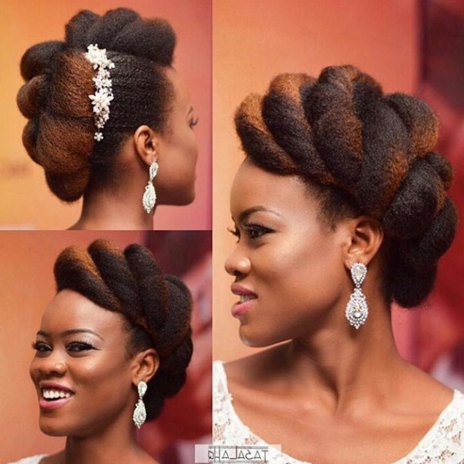 Featured Photo of Wedding Hairstyles For Natural Black Hair