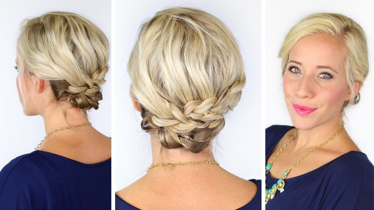 Hair Style Tutorials With Recent Bohemian Wedding Hairstyles For Short Hair (View 8 of 15)