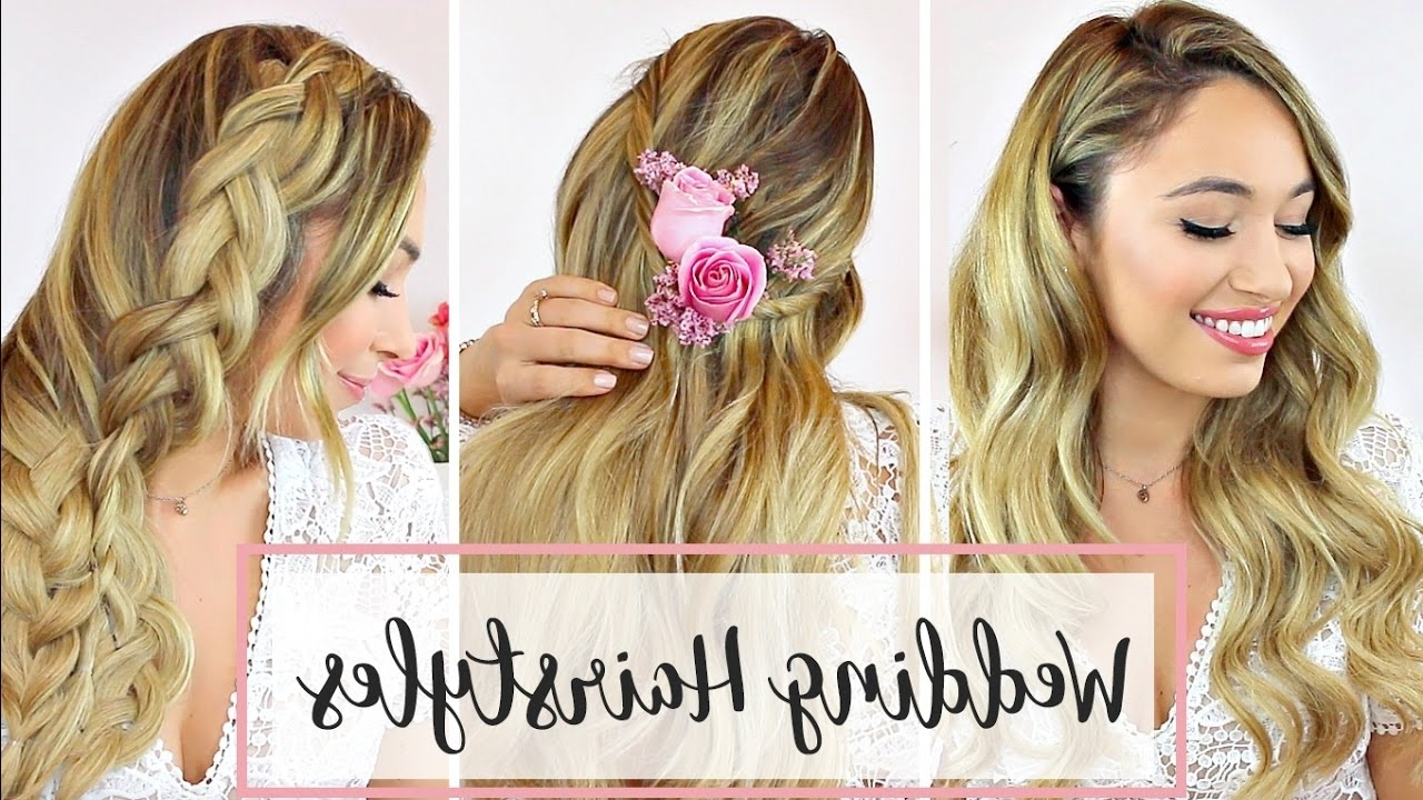 Hair Tutorial – Youtube Intended For Recent Wedding Hairstyles That You Can Do Yourself (View 7 of 15)