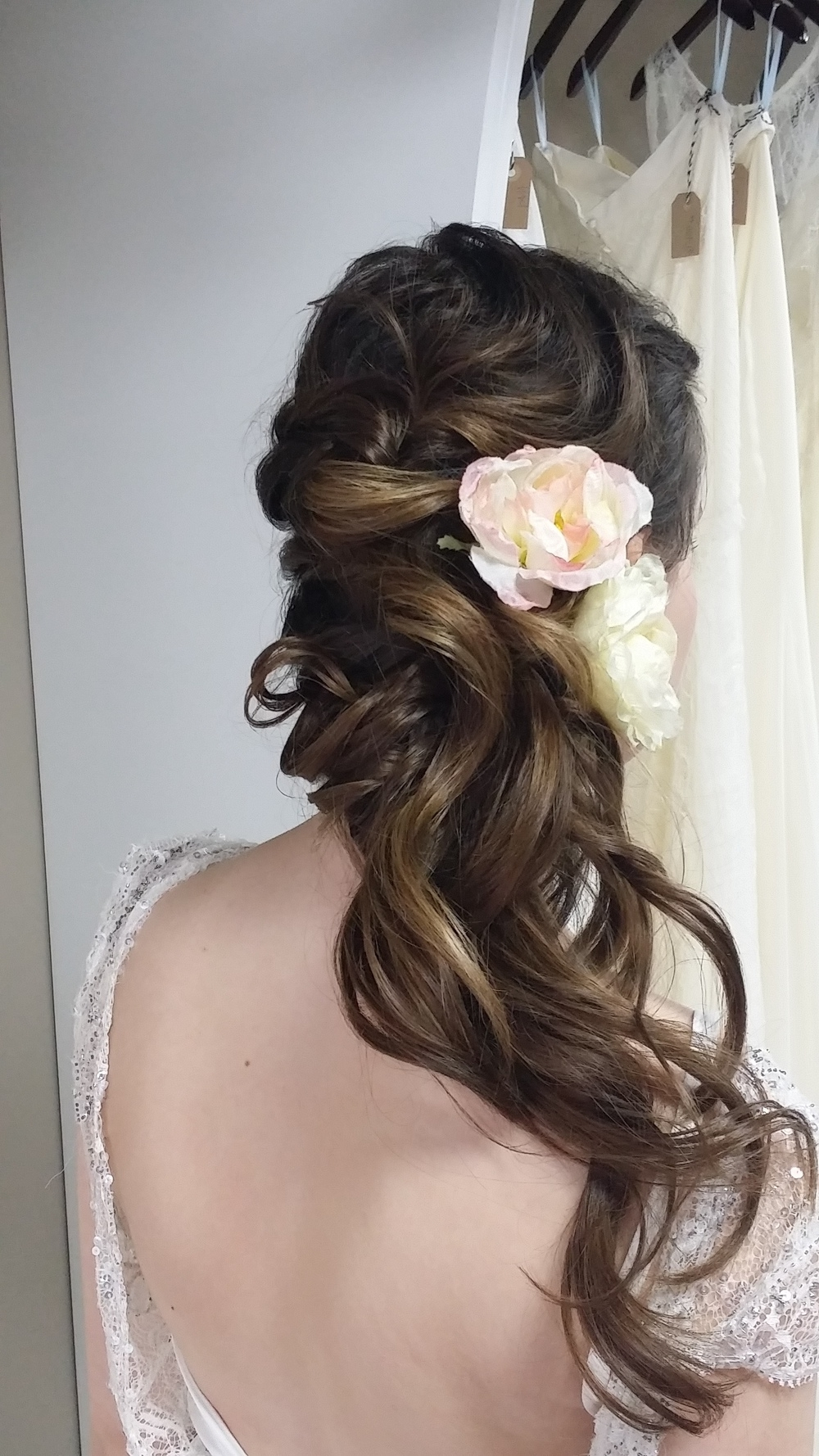 Hair Updos — Beyond Beautifulheather In Current Part Up Part Down Wedding Hairstyles (View 7 of 15)