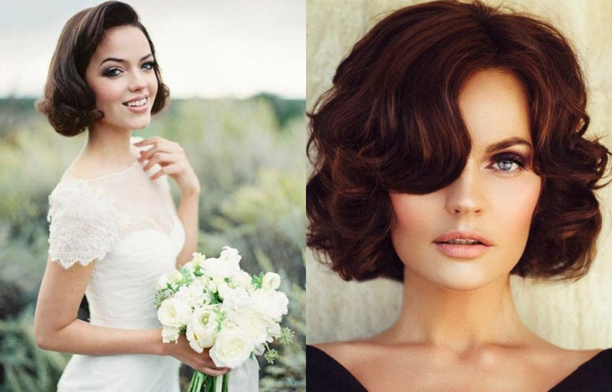Hair With Well Known Bob Wedding Hairstyles (View 9 of 15)