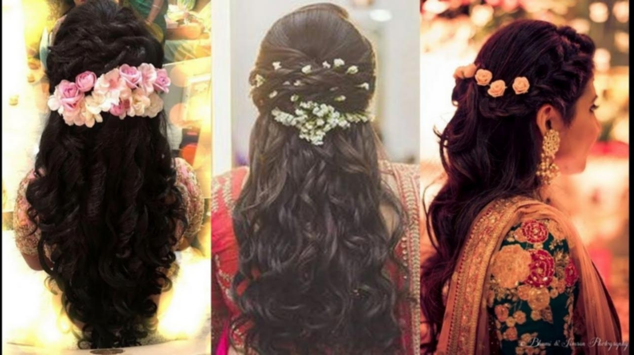 Haircut For Medium Hair Indian North Indian Bridal Hairstyles For Regarding Famous North Indian Wedding Hairstyles For Long Hair (View 7 of 15)