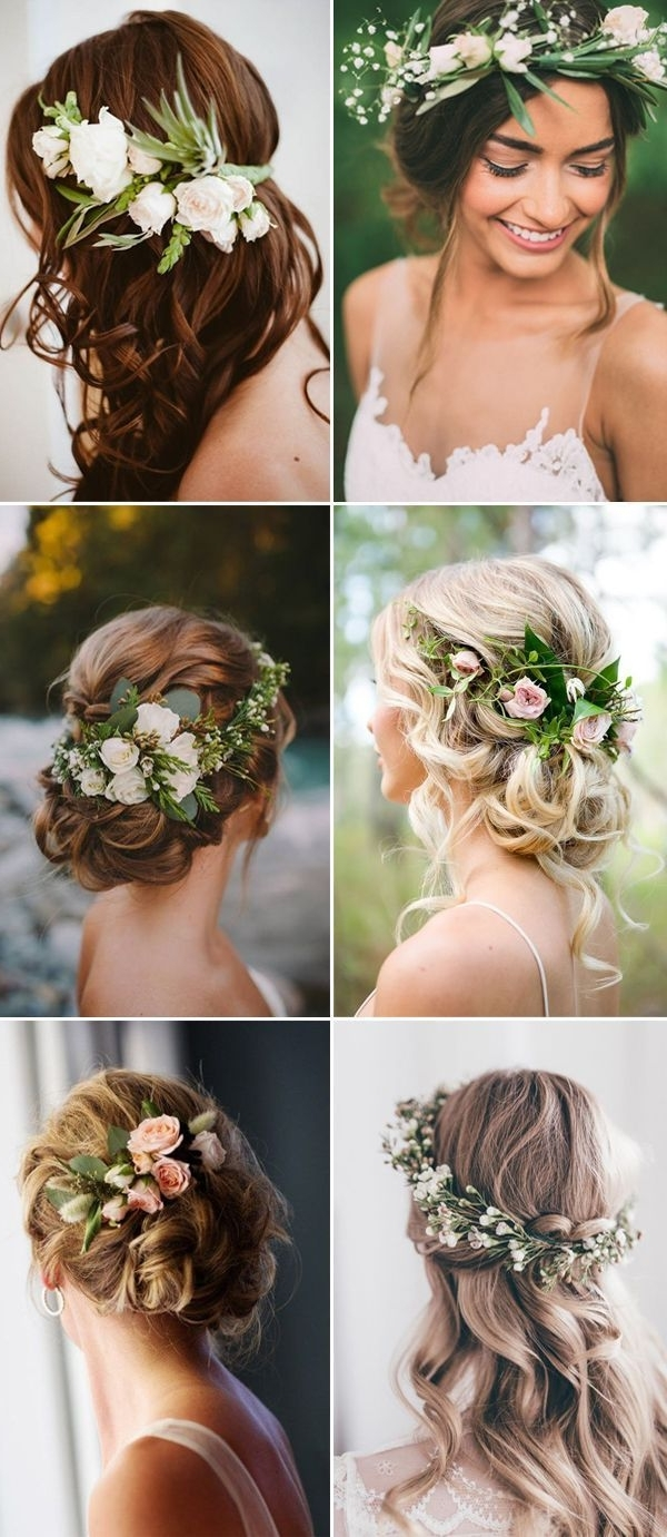 Hairstyle Ideas Intended For Most Recent Beach Wedding Hairstyles (View 10 of 15)
