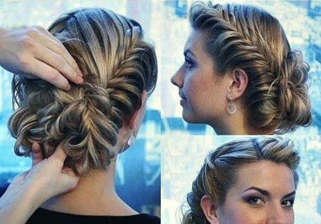 Hairstyles For Long Hair Braids Prom Latest Fancy Formal Stock With Regard To Popular Easy Wedding Hairstyles For Long Curly Hair (View 10 of 15)