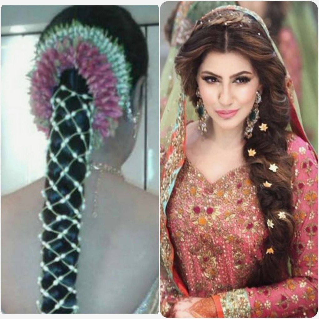 Hairstyles For Long Hair South Indian For Widely Used North Indian Wedding Hairstyles For Long Hair (View 13 of 15)