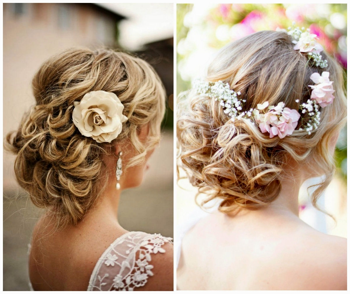 15 Best Ideas of Messy Updos Wedding Hairstyles
