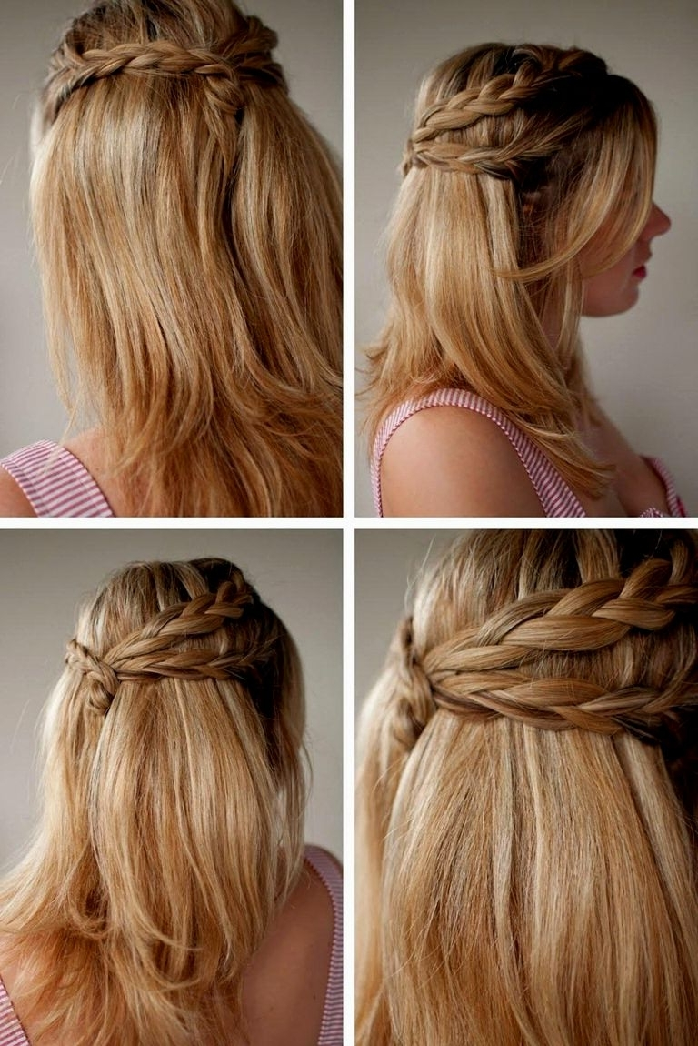 Hairstyles Ideas Inside Well Liked Wedding Hairstyles For Down Straight Hair (View 8 of 15)