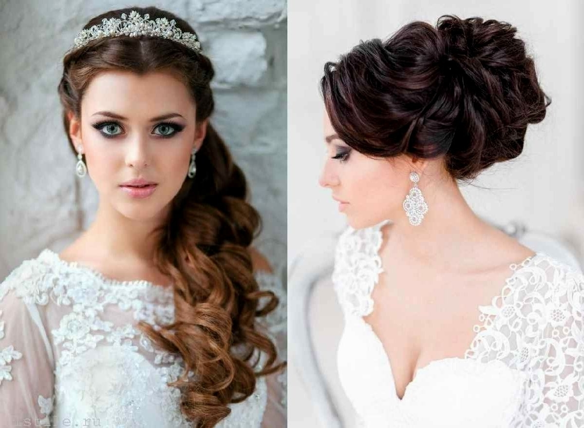 Hairstyles Ideas Pertaining To Well Known Bride Hairstyles For Long Hair With Veil (View 7 of 15)