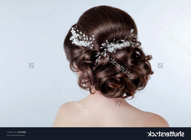 Hairstyles Ideas Regarding Trendy Brunette Wedding Hairstyles (View 7 of 15)