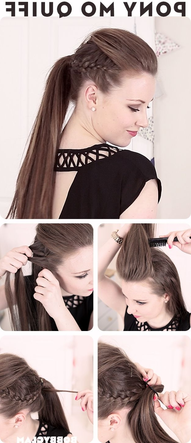 Featured Photo of Bouffant Quiff Ponytail Wedding Hairstyles