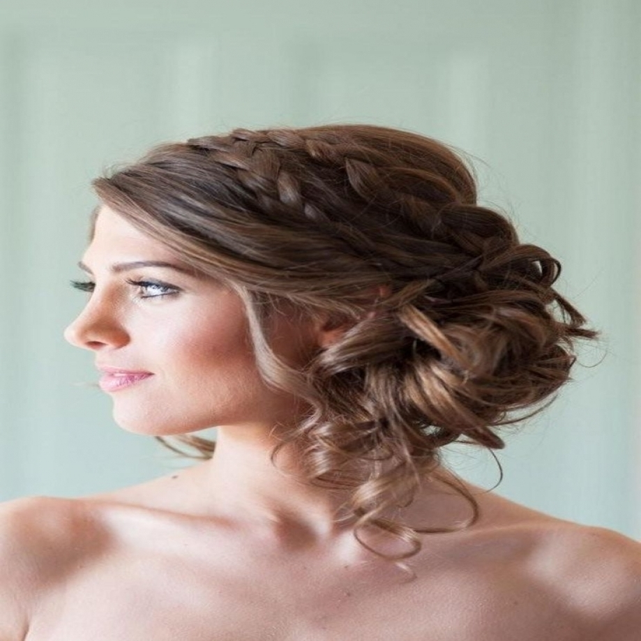Hairstyles Wedding Hairstyles Updos Easy Updos Long Hair Pertaining Throughout Widely Used Wedding Updos For Long Straight Hair (View 6 of 15)