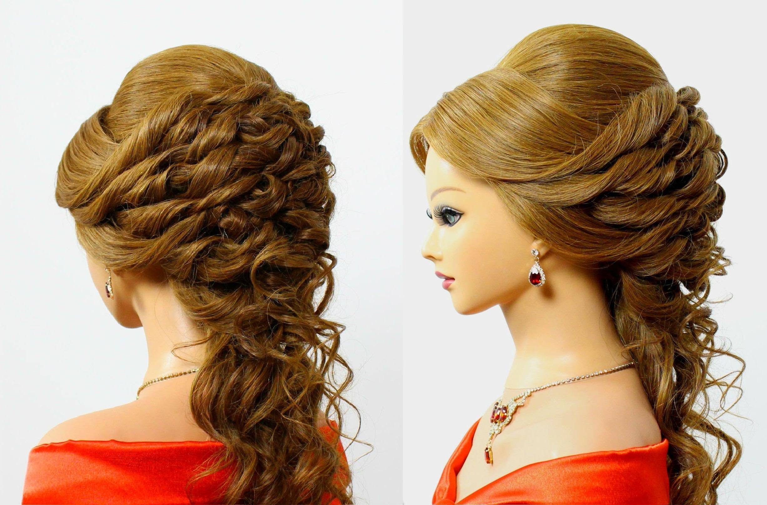 Hairstyles Wonderful Wedding Updos For Long Hair Morgiabridal Com With Latest Wedding Evening Hairstyles (View 6 of 15)