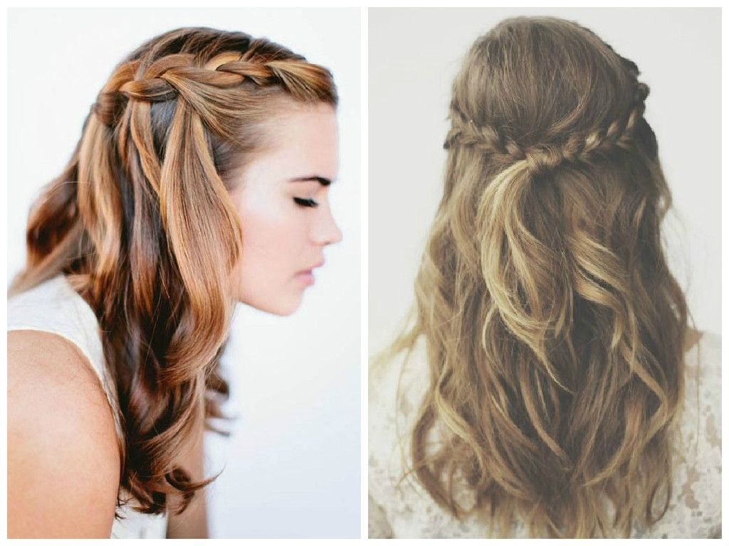 Half Up Half Down Braided Hairstyles To Inspire You How To Remodel With Most Recently Released Wedding Hairstyles Down With Braids (View 15 of 15)