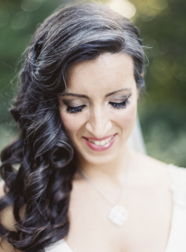Half Up, Half Down Wedding Hairstyles For Every Type Of Bride (View 6 of 15)