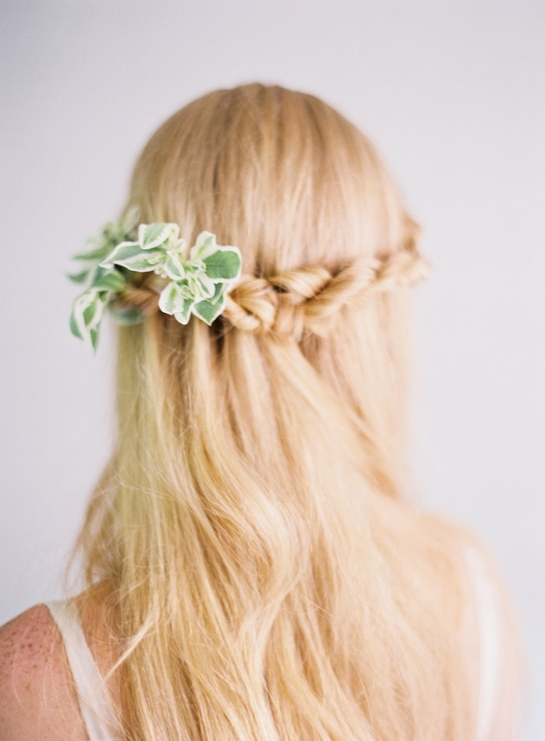 Half Up, Half Down Wedding Hairstyles For Every Type Of Bride (View 7 of 15)