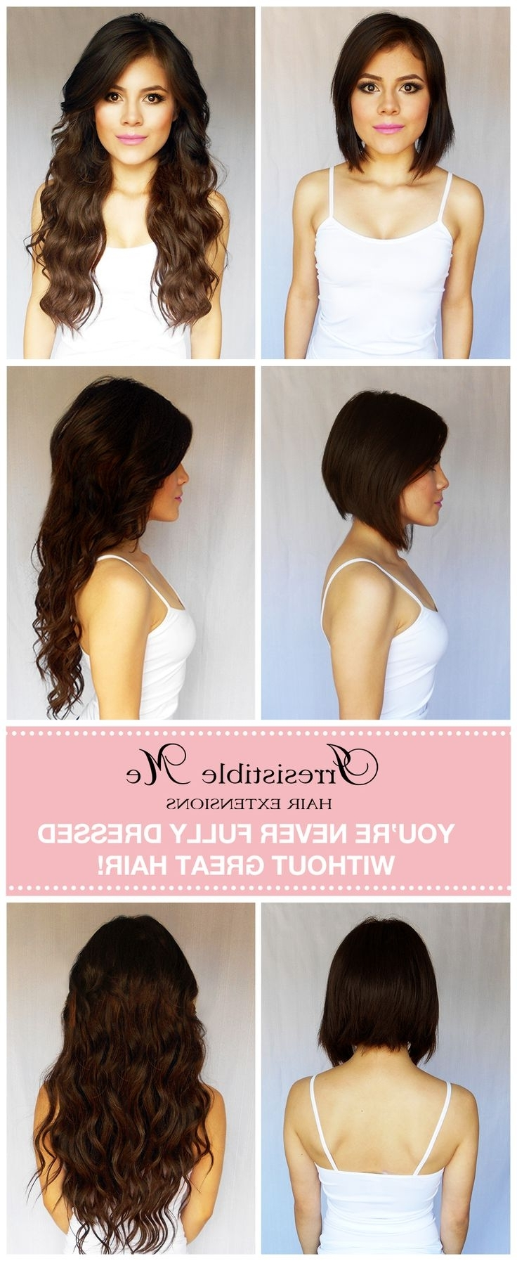 Highlight Hair Updos With 47 Best Extensions Cheveux Images On With Regard To Most Current Wedding Hairstyles For Short Hair With Extensions (View 4 of 15)