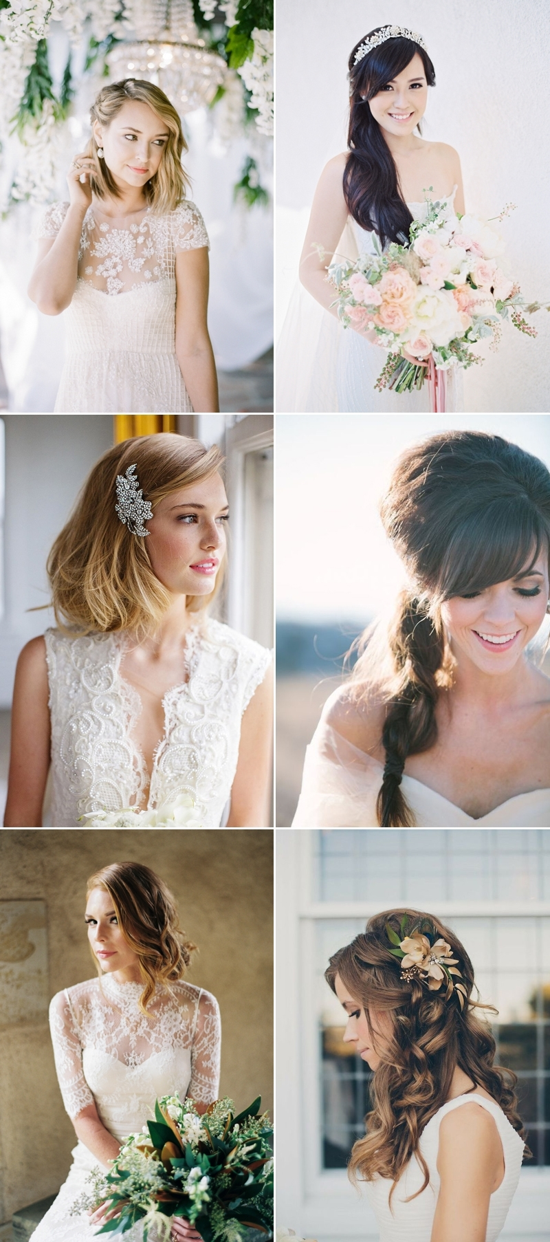 How To Find The Right Wedding Day Hairstyle? The Most Flattering Pertaining To Fashionable Wedding Hairstyles For Square Face (View 14 of 15)