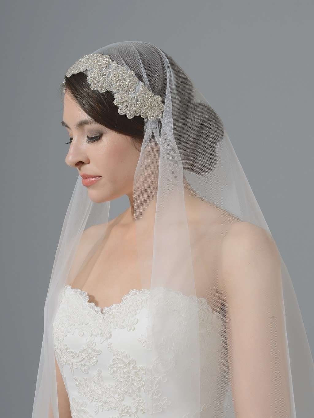 How To Make A Wedding Veil Inspirational Wedding Hairstyles For With Well Liked Wedding Hairstyles For Medium Length Hair With Veil (View 5 of 15)