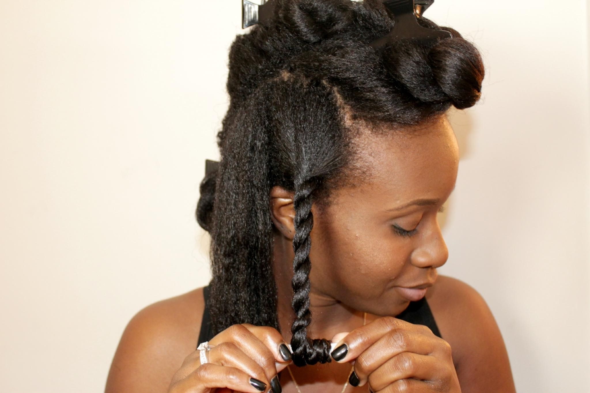 How To Master A Twist Out On Relaxed Hair (View 8 of 15)