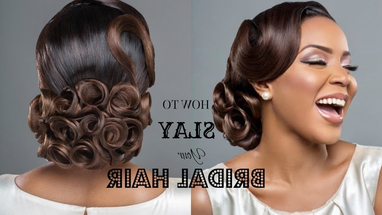 How To Slay Your Bridal Hair Ft (View 4 of 15)