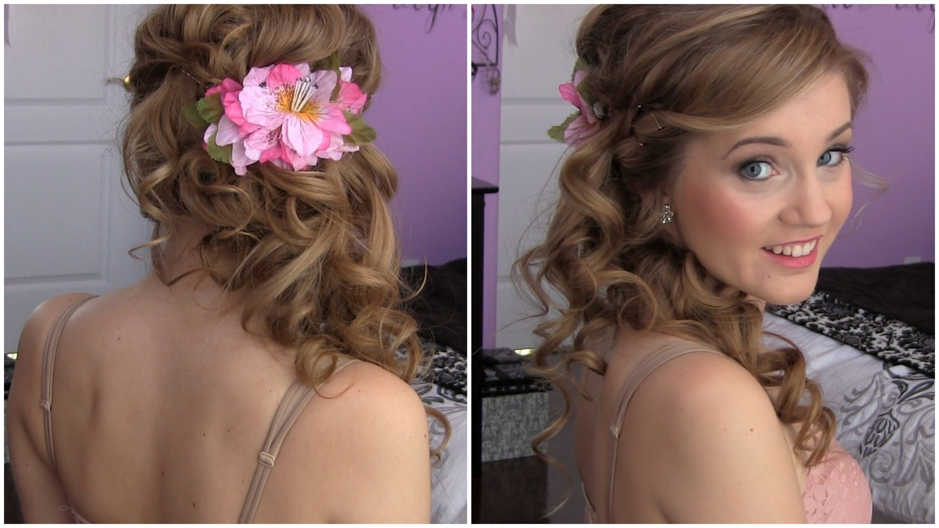 Ideas Side Curls Weddingyles Swept Updo Curly Ponytail Hair Stunning In Preferred Wedding Hairstyles To The Side With Curls (View 8 of 15)
