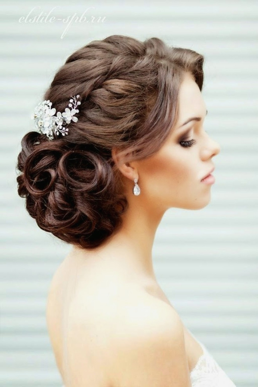 Impressive Hair Dos For Wedding Ideas Updo Guest Hairdos Guests Inside Most Up To Date Curly Updos Wedding Hairstyles (View 7 of 15)