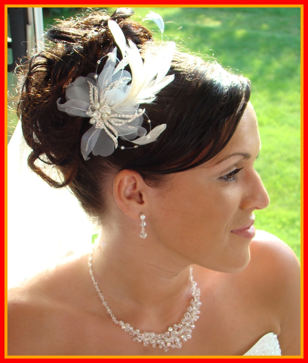 Incredible Bridal Hair Updos For Long Hiar With Veil Half Up Short With Most Recent Wedding Hairstyles For Long Hair Up With Veil (View 9 of 15)