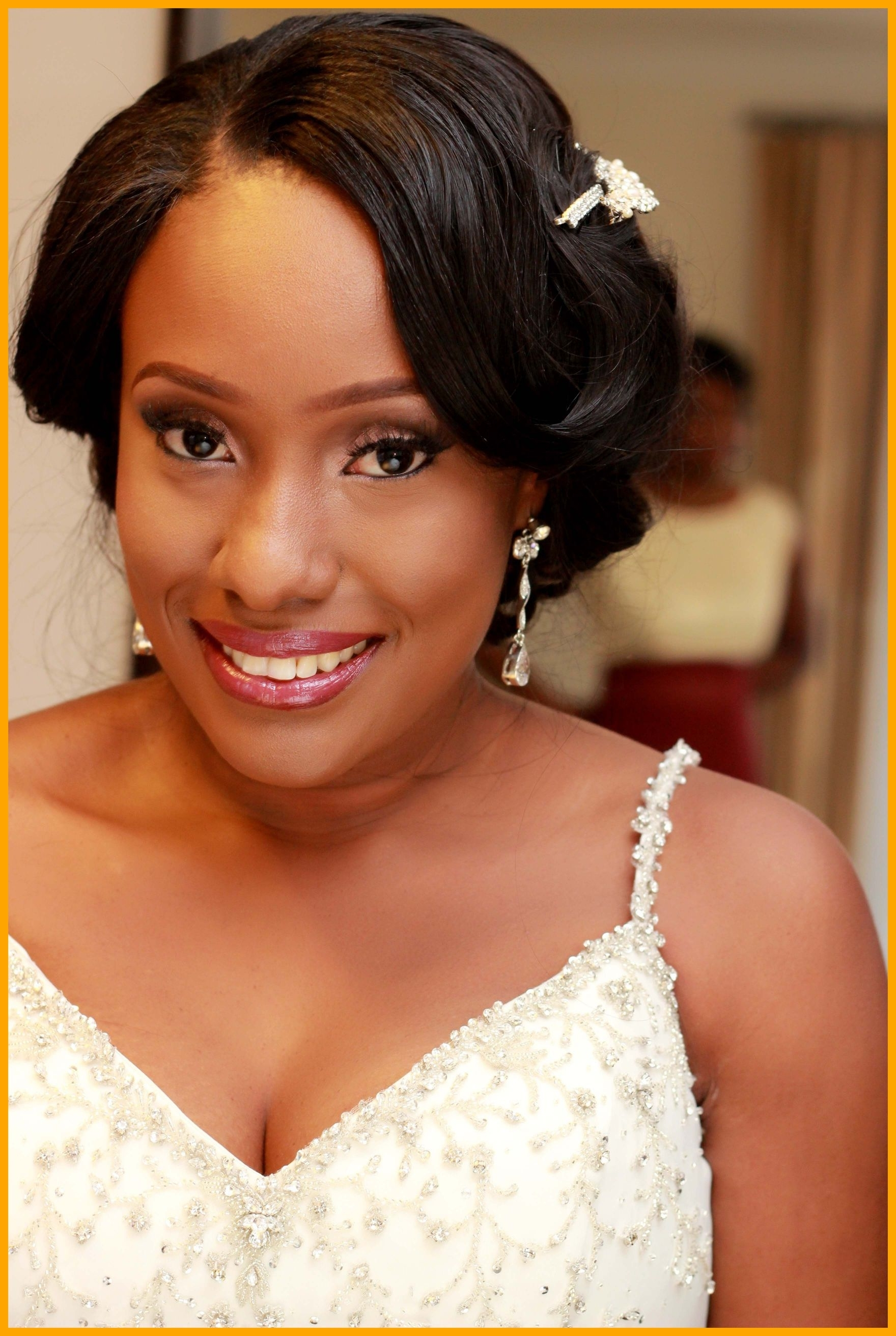 Incredible Wedding Hairstyles For African American Brides About Intended For Most Recently Released Wedding Hairstyles For African American Brides (Gallery 8 of 15)
