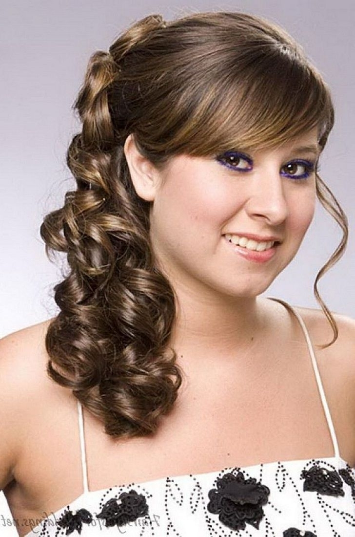 Indian Bridal Hairstyle For Round Chubby Face, Wedding Hairdo For Within Best And Newest Wedding Hairstyles For Long Hair With Round Face (View 6 of 15)