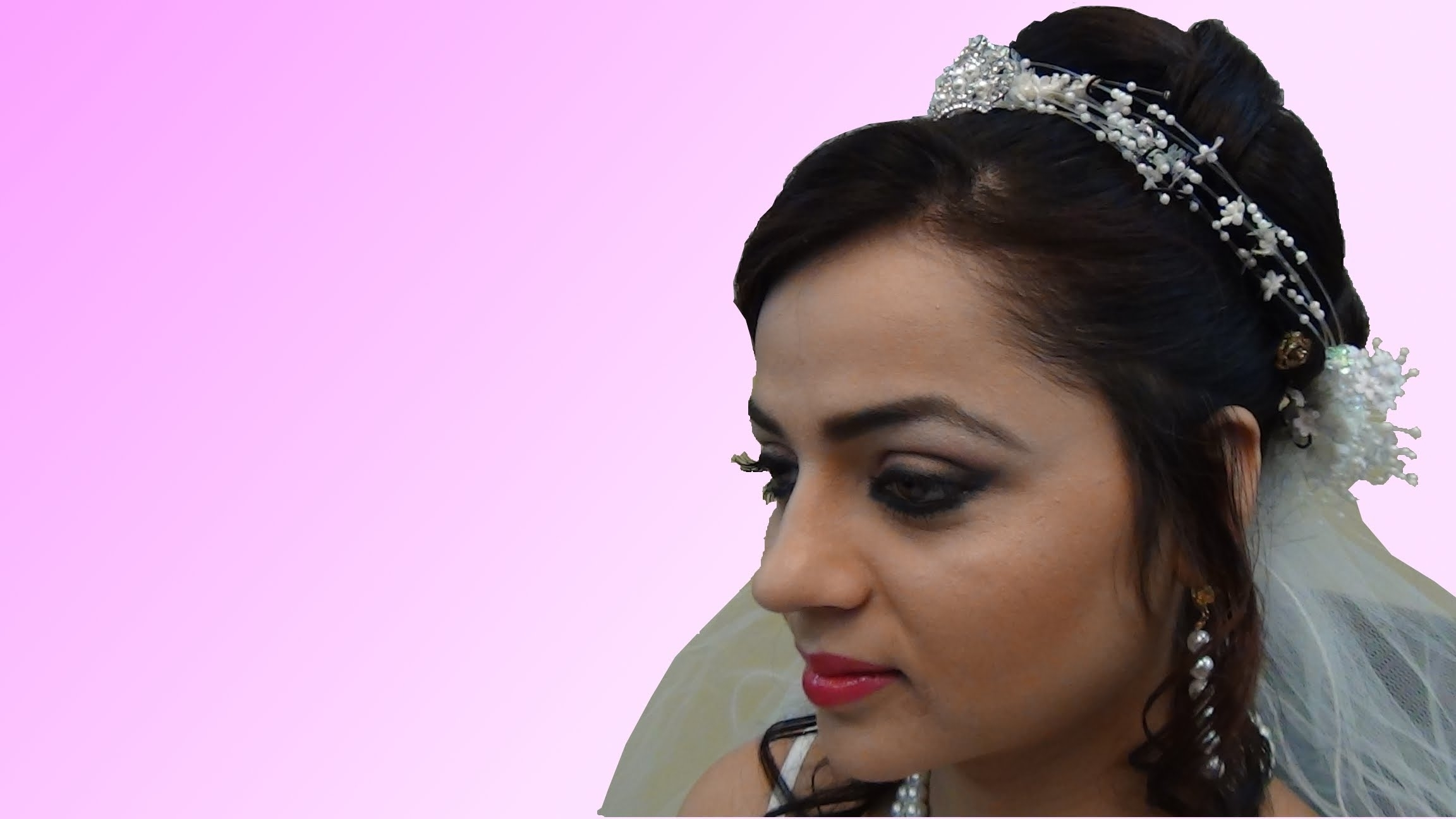 Indian Bridal Makeup – Christian Bride – Youtube Intended For Preferred Wedding Hairstyles For Kerala Christian Brides (View 15 of 15)