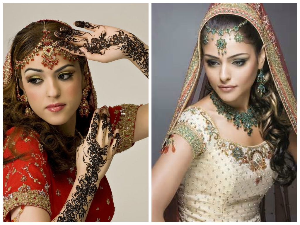 Indian Wedding Hairstyles Medium Indian Wedding Hairstyle Ideas For Inside Best And Newest Indian Wedding Hairstyles For Shoulder Length Hair (View 9 of 15)
