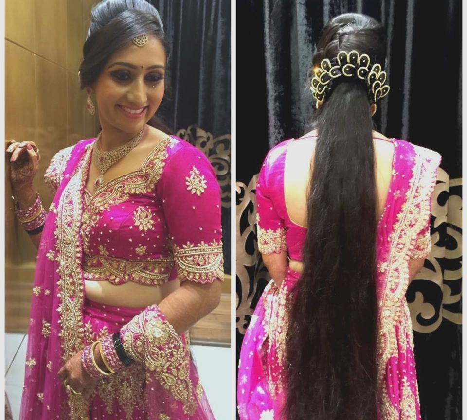Indian Wedding Reception Hairstyles For Short Hair – The Best Short For Well Liked Wedding Reception Hairstyles (View 6 of 15)