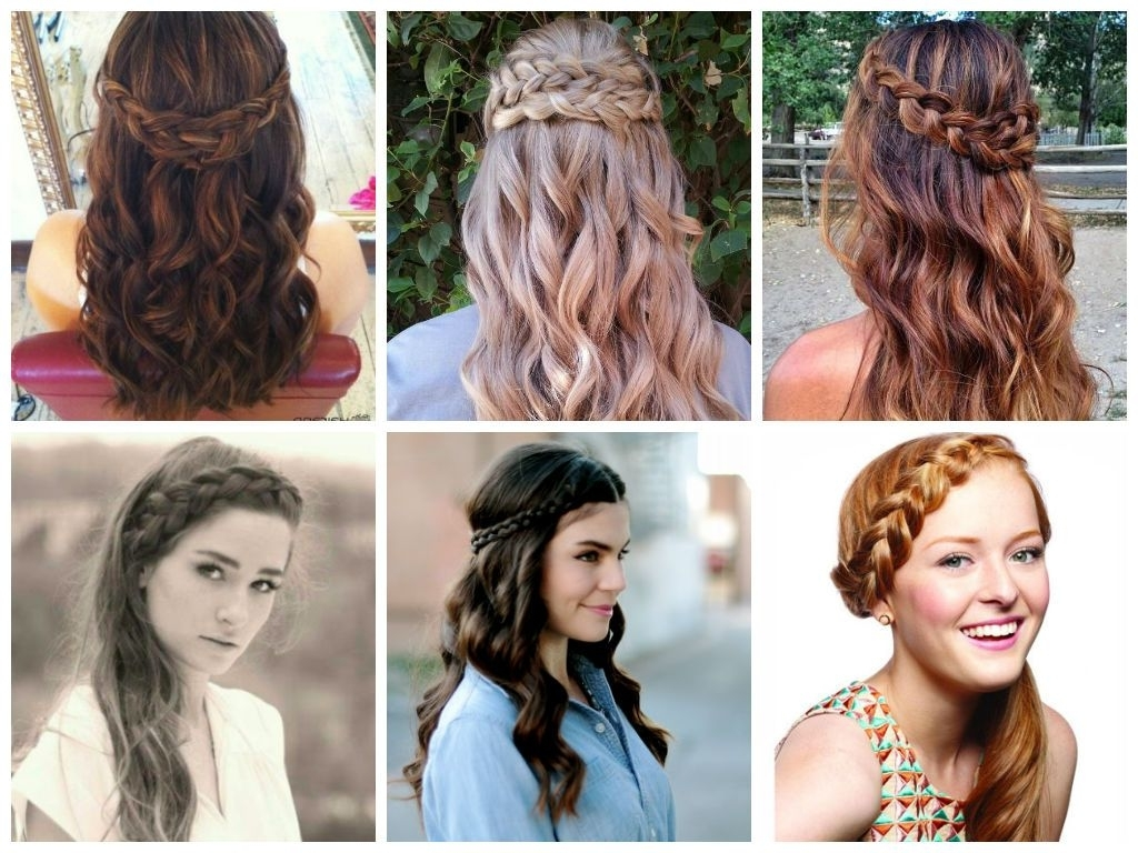 Inspiring Half Up Down Wedding Day Hairstyles Hair World Magazine Throughout Most Recently Released Wedding Hairstyles Down With Braids (View 5 of 15)