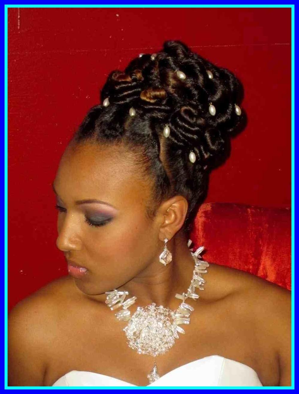 Inspiring Wedding Hairstyles For Black Bridesmaids The Big River With 2018 Wedding Hairstyles With Braids For Black Bridesmaids (View 3 of 15)