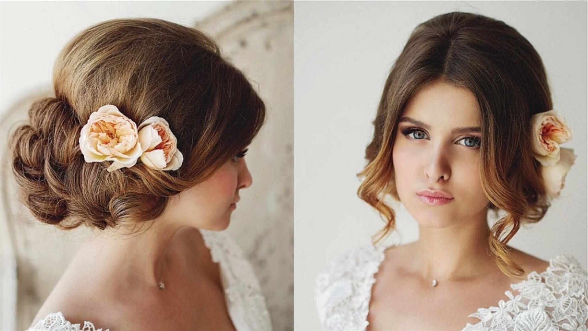Interesting Loose Buns Hairstyles Wedding In Tam Makeup Team Bridal Throughout Trendy Loose Bun Wedding Hairstyles (Gallery 15 of 15)
