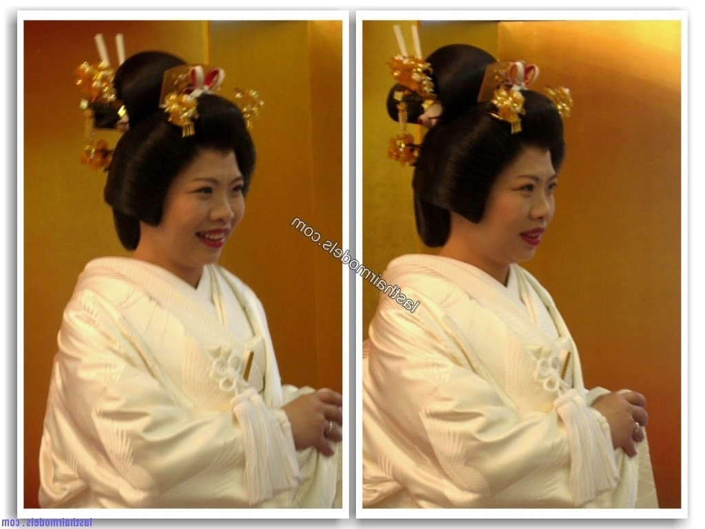 Japanese Wedding Hairstyles (13) (View 8 of 15)