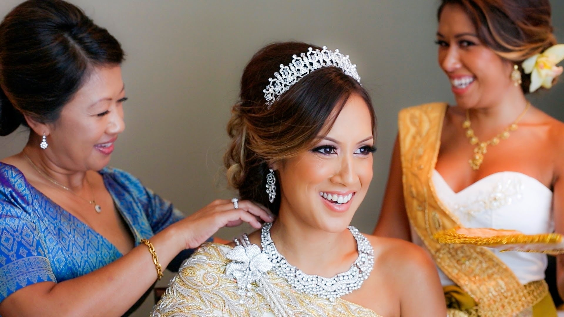Jess + Kory Cambodian Wedding Highlight – Youtube Within Well Liked Khmer Wedding Hairstyles (Gallery 4 of 15)