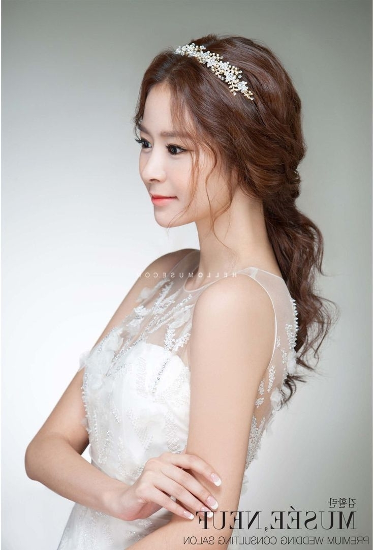 Photo Gallery Of Asian Wedding Hairstyles Viewing 6 Of 15