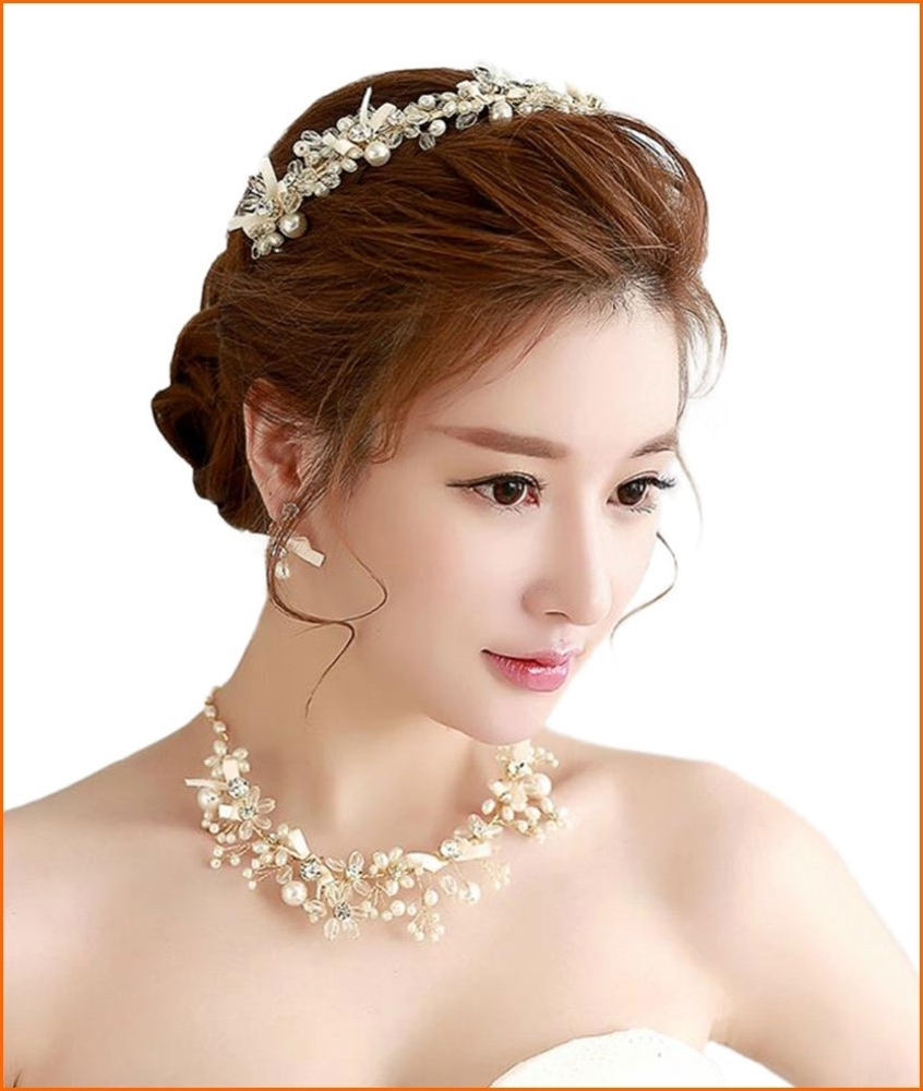 Korean Wedding Hairstyle Inspiration 2018 – Hairstyles, Easy For Current Korean Wedding Hairstyles (Gallery 10 of 15)
