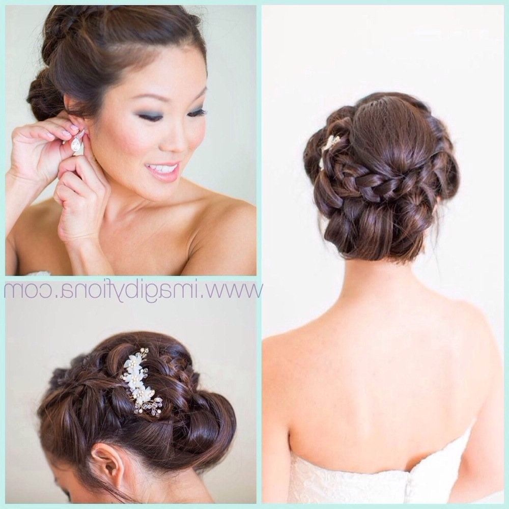 Korean Wedding Hairstyle Wedding Hair Braided Up Do Korean Wedding Inside Well Known Korean Wedding Hairstyles (View 6 of 15)