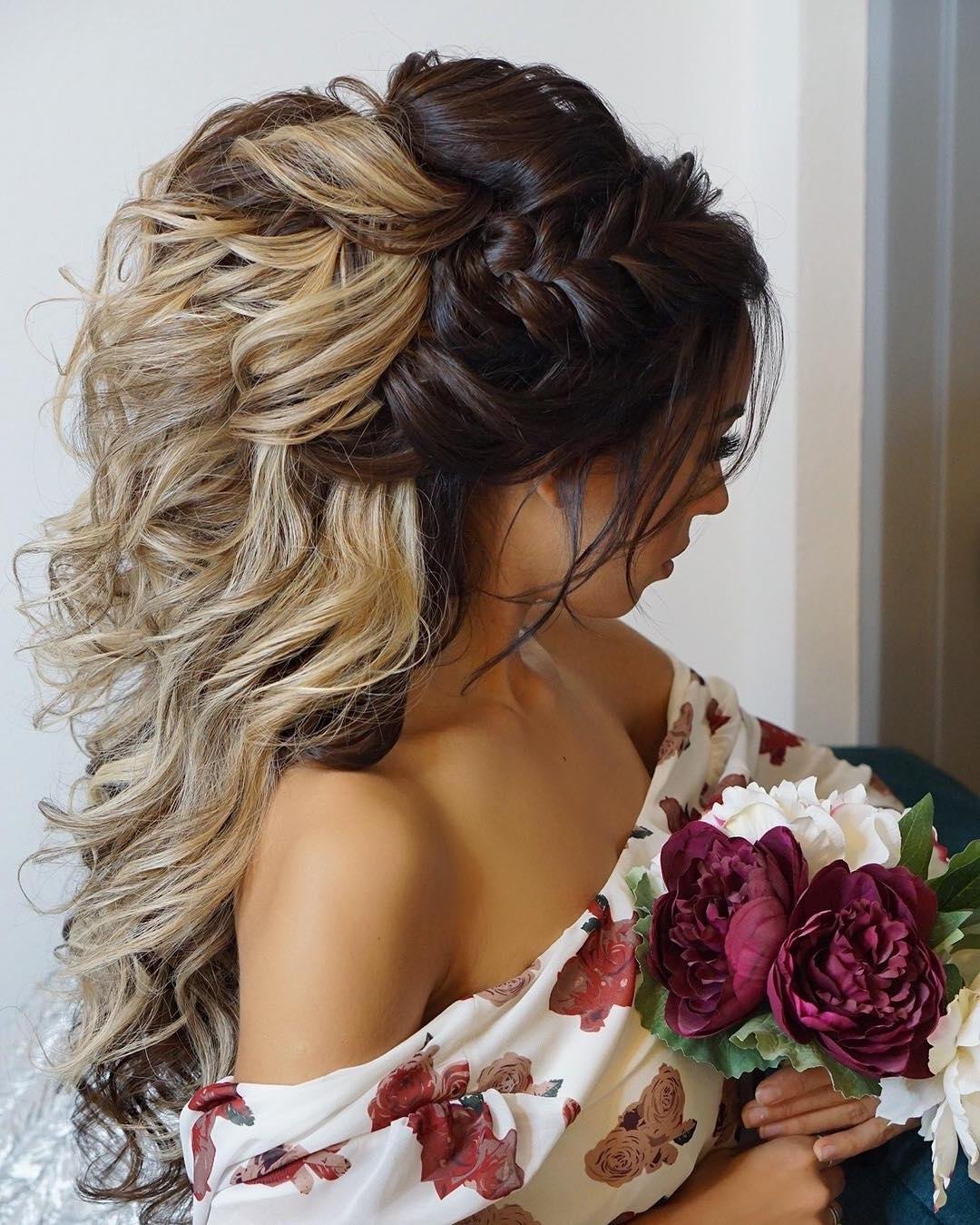 Ladylife Within Most Current Wedding Hairstyles For Long Hair With Bangs (View 14 of 15)