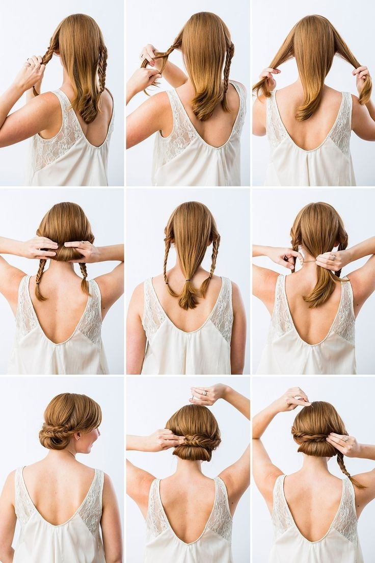 Latest Diy Simple Wedding Hairstyles For Long Hair With Regard To 72 Best Wedding Hair And Makeup Images On Pinterest (Gallery 1 of 15)