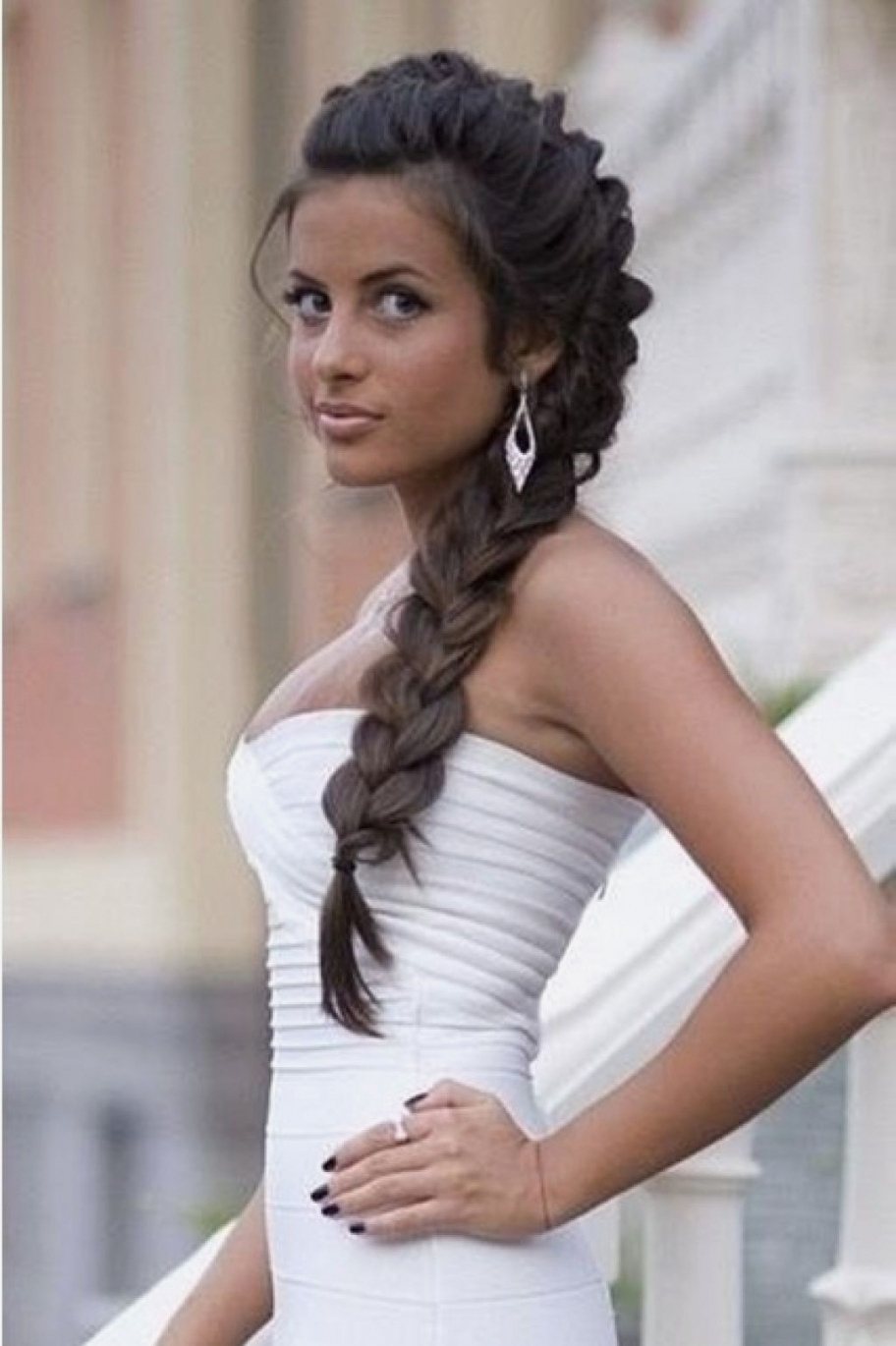 Latest Long Hair Down Wedding Hairstyles Intended For Wedding Hairstyles : Amazing Wedding Hairstyles Long Hair Down (View 8 of 15)