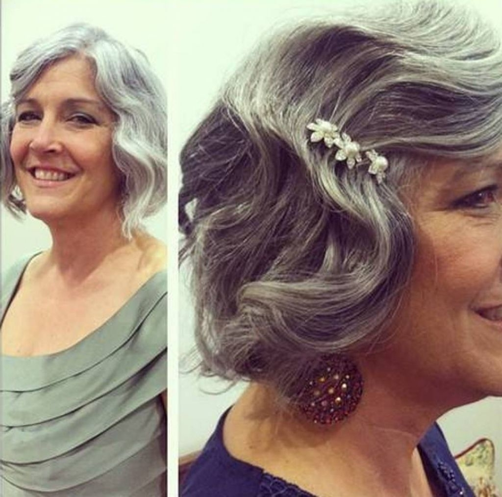 Featured Photo of Mother Of Bride Wedding Hairstyles