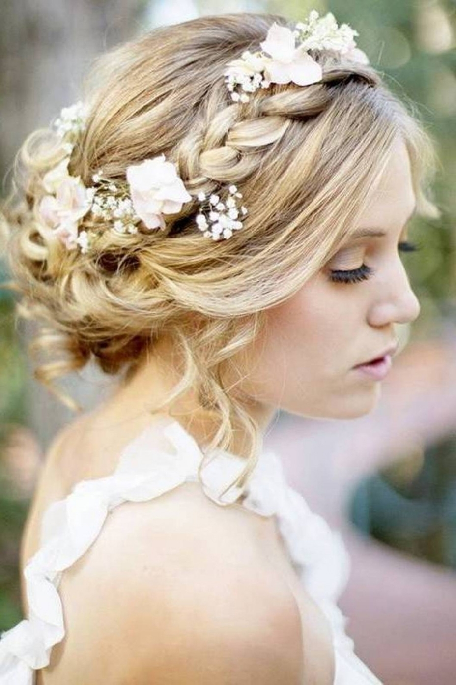 Latest Throughout Most Up To Date Wedding Hairstyles With Veil And Tiara (View 3 of 16)