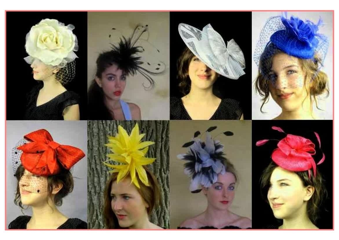 Latest Wedding Guest Hairstyles With Fascinator With Regard To Beautiful Hairstyles Wedding Guest Hairstyles With Fascinator – Best (View 4 of 15)