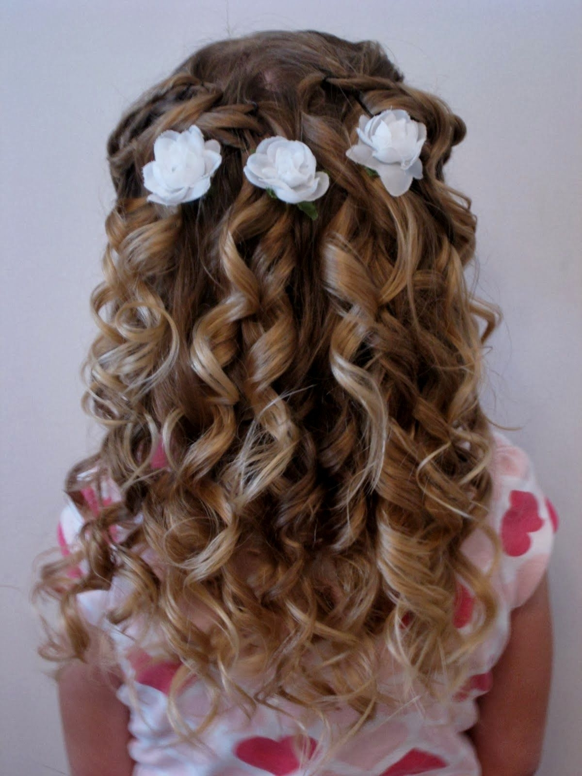 Latest Wedding Hairstyles For Kids With Wedding Hairstyles Kids (View 9 of 15)
